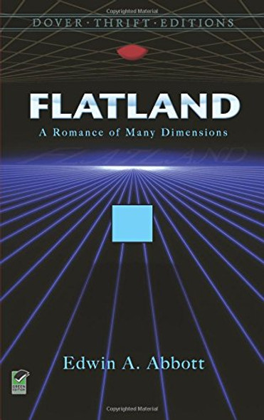 Flatland: A Romance of Many Dimensions (Dover Thrift Editions) [Paperback] Cover