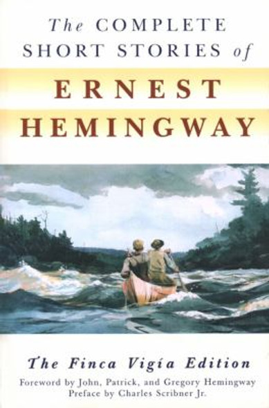 The Complete Short Stories of Ernest Hemingway Cover