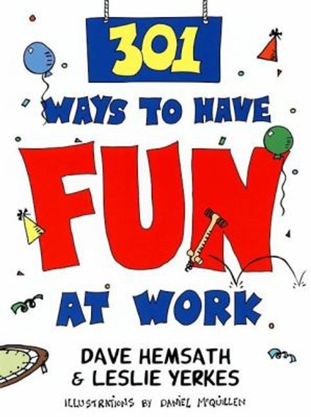 301 Ways to Have Fun at Work [Paperback] Cover