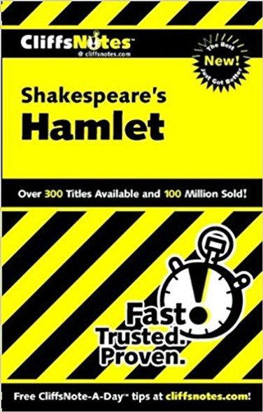 Shakespeare's Hamlet ( Cliffsnotes Literature Guides ) [Paperback] Cover