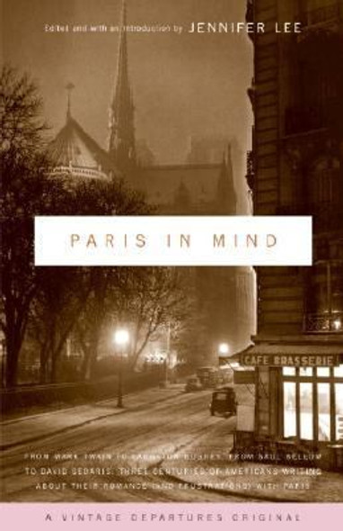Paris in Mind [Paperback] Cover
