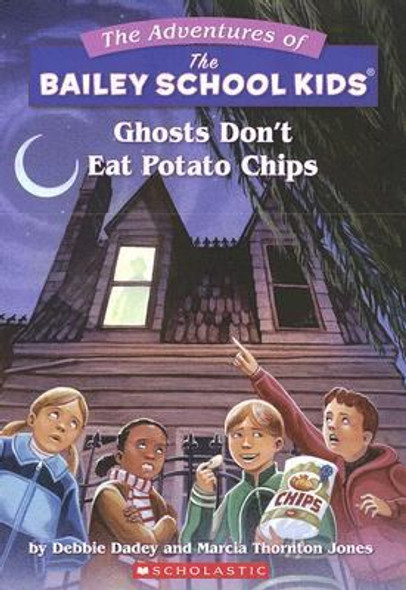 Ghosts Don't Eat Potato Chips Cover