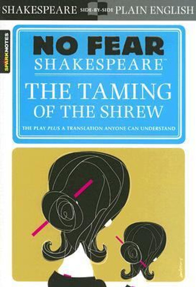The Taming of the Shrew (No Fear Shakespeare) [Paperback] Cover