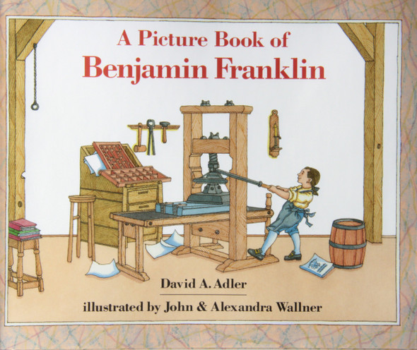 A Picture Book of Benjamin Franklin ( Picture Book Biographies (Hardcover) ) [Hardcover] Cover