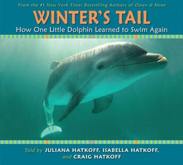 Winter's Tail : How One Little Dolphin Learned to Swim Again [Hardcover] Cover