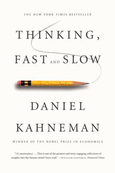 Thinking, Fast and Slow [Paperback] Cover