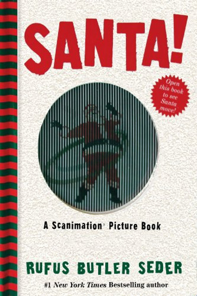 Santa!: A Scanimation Picture Book Cover