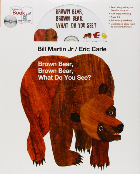 Brown Bear, Brown Bear, What Do You See? and CD storytime set [] Cover