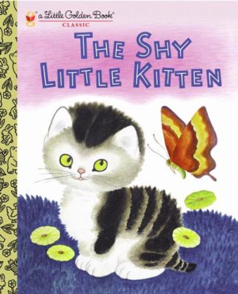 The Shy Little Kitten (Little Golden Book) [Hardcover] Cover
