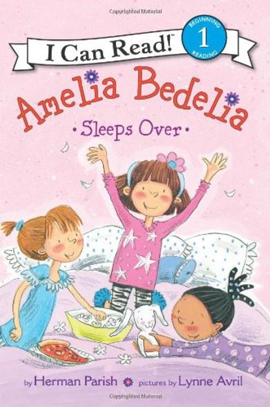 Amelia Bedelia Sleeps Over [Paperback] Cover