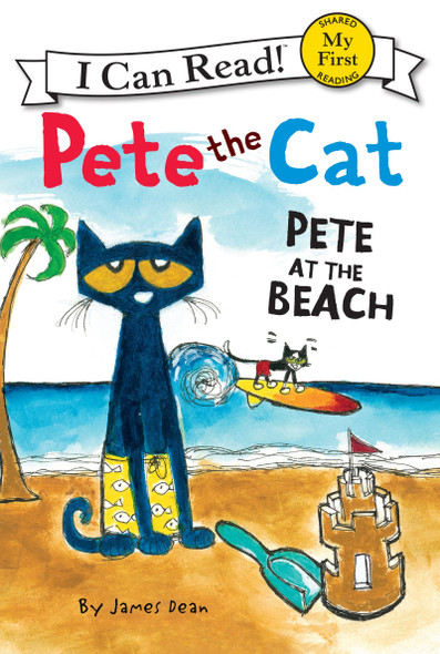 Pete the Cat: Pete at the Beach [Paperback] Cover