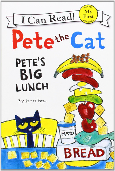 Pete the Cat - Pete's Big Lunch [Paperback] Cover