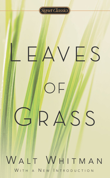 Leaves of Grass (Signet Classics) [Mass Market Paperback] Cover