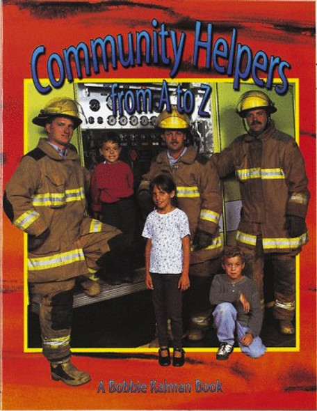 Community Helpers From A To Z (Turtleback School & Library Binding Edition) [Library Binding] Cover