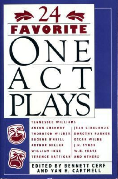 24 Favorite One Act Plays [Paperback] Cover