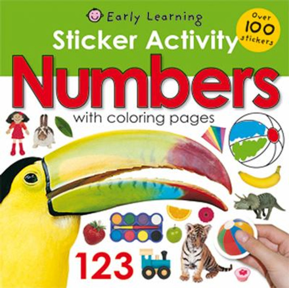 Sticker Activity Numbers [Paperback] Cover