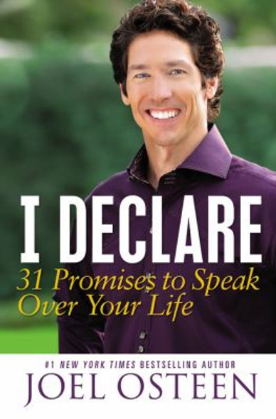 I Declare: 31 Promises to Speak over Your Life [Hardcover] Cover