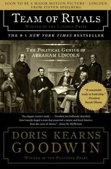 Team of Rivals: The Political Genius of Abraham Lincoln [Paperback] Cover