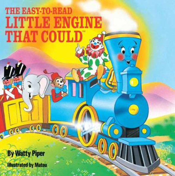 The Easy-to-Read Little Engine That Could [Paperback] Cover