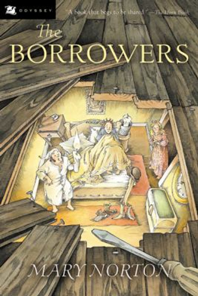 The Borrowers [Paperback] Cover