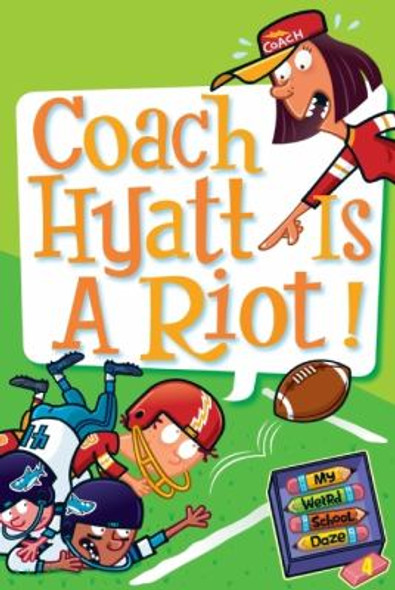 Coach Hyatt Is a Riot! [Paperback] Cover