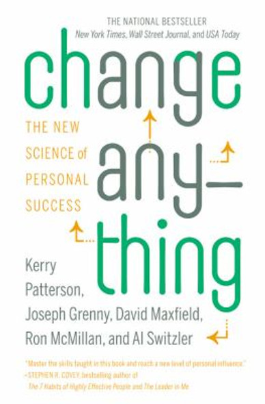 Change Anything: The New Science of Personal Success [Paperback] Cover