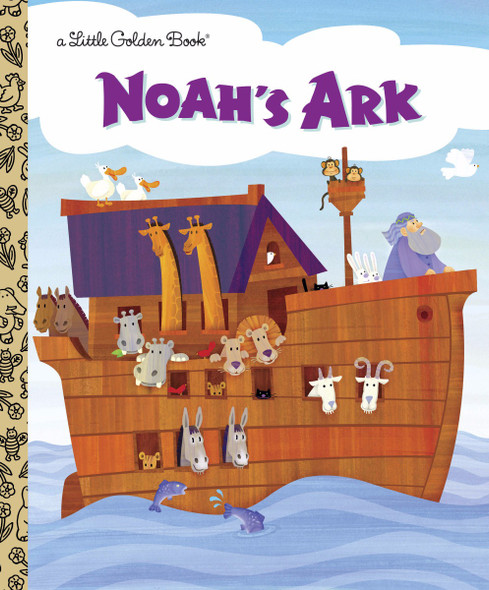 Noah's Ark (Little Golden Book) [Hardcover] Cover