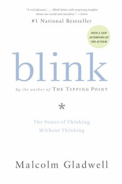 Blink: The Power of Thinking Without Thinking [Paperback] Cover
