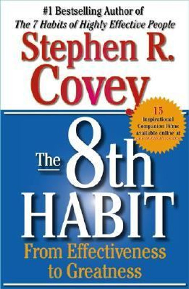 The 8th Habit: From Effectiveness to Greatness [Paperback] Cover