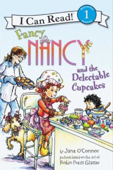 Fancy Nancy and the Delectable Cupcakes Cover