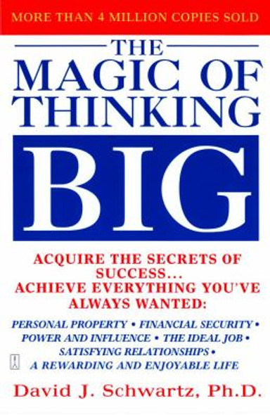The Magic of Thinking Big [Paperback] Cover