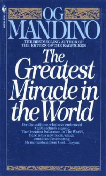 The Greatest Miracle in the World [Paperback] Cover
