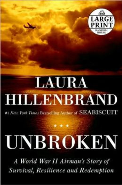 Unbroken: A World War II Story of Survival, Resilience, and Redemption (Large Print) [Paperback] Cover