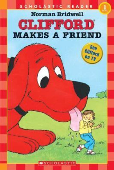 Clifford Makes a Friend [Paperback] Cover