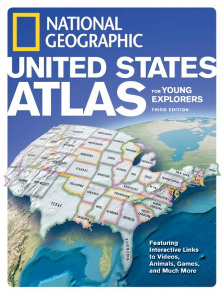 National Geographic United States Atlas for Young Explorers [Hardcover] Cover