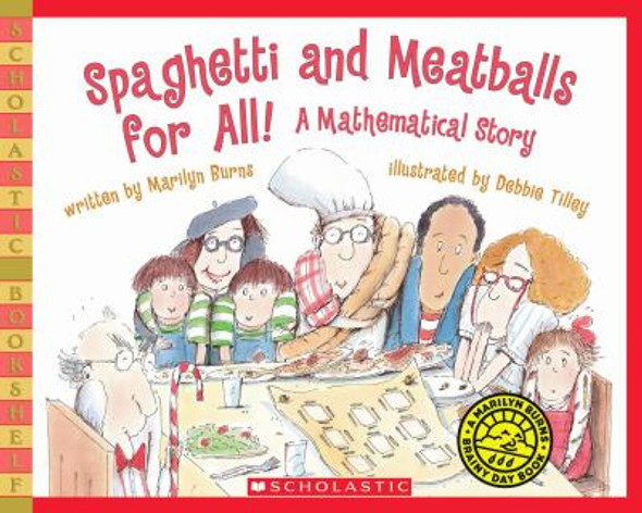 Spaghetti and Meatballs for All! : A Mathematical Story [Paperback] Cover