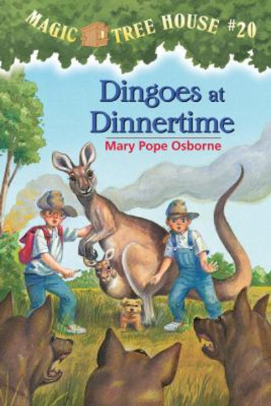Magic Tree House #20: Dingoes at Dinnertime [Paperback] Cover