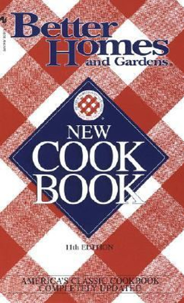 Better Homes and Gardens New Cook Book [Mass Market Paperback] Cover