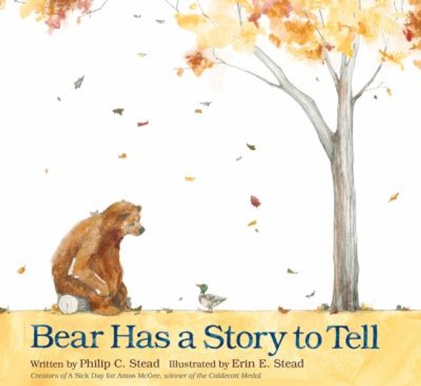 Bear Has a Story to Tell [Hardcover] Cover