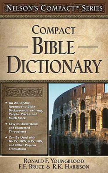 Compact Bible Dictionary [Paperback] Cover