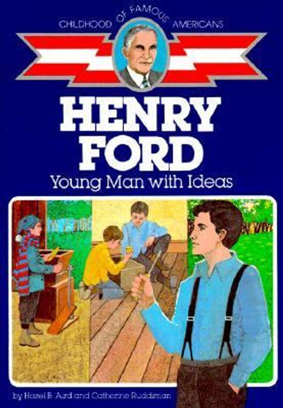 Henry Ford: Young Man with Ideas [Paperback] Cover
