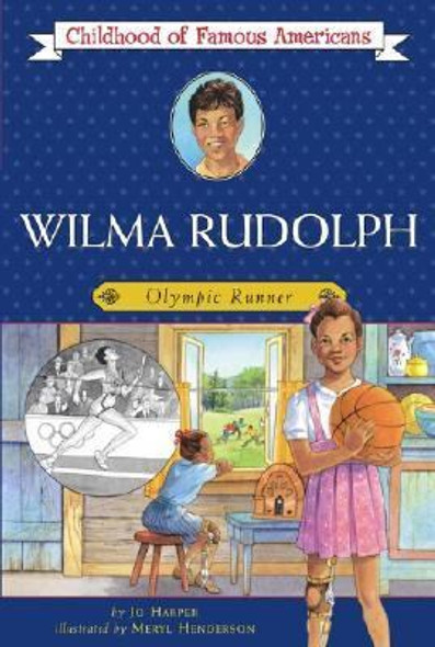 Wilma Rudolph: Olympic Runner [Paperback] Cover
