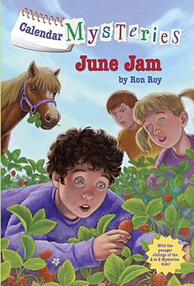 Calendar Mysteries #6: June Jam [Mass Market Paperback] Cover