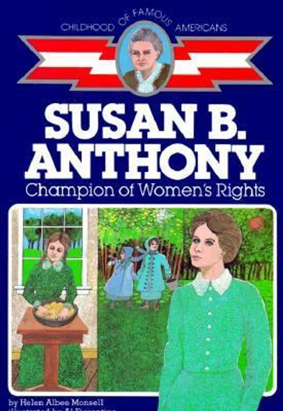 Susan B. Anthony: Champion of Women's Rights [Paperback] Cover