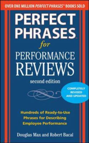 Perfect Phrases for Performance Reviews [Paperback] Cover
