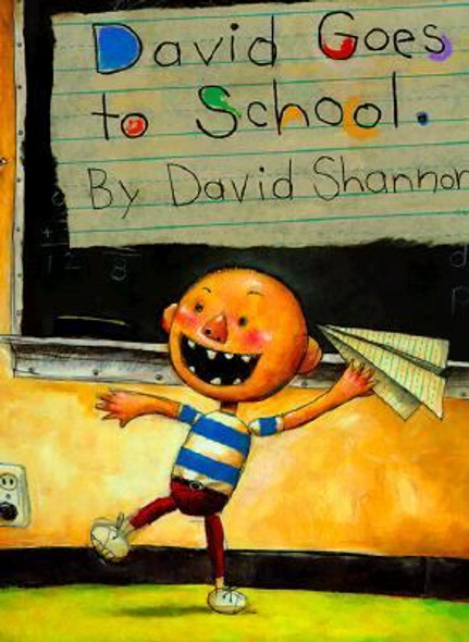 David Goes to School [Hardcover] Cover