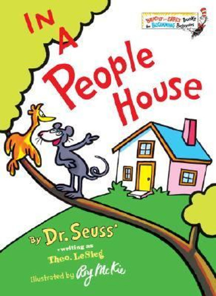 In a People House [Hardcover] Cover