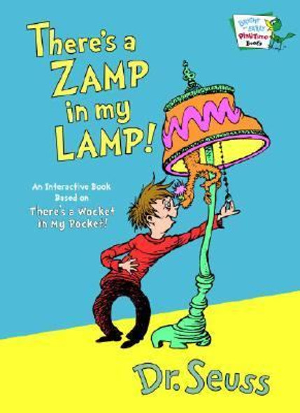 There's a Zamp in My Lamp! [Hardcover] Cover
