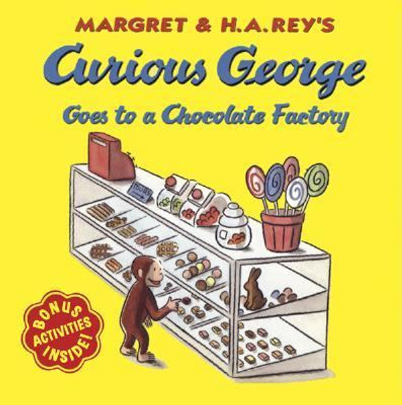 Curious George Goes to a Chocolate Factory [Paperback] Cover