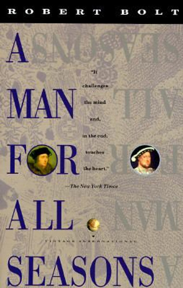 A Man for All Seasons [Paperback] Cover